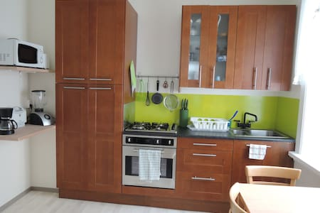 Small cosy apartment situated in the heart of Reykjavik, on central street of Laugavegur and is excellent for exploring the city. It have good kitchen, sitting room, bathroom with shower and one bedroom with either two single beds or one double bed.