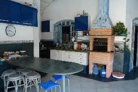 casa agradavel com espaço gourmet e de laser - Casa