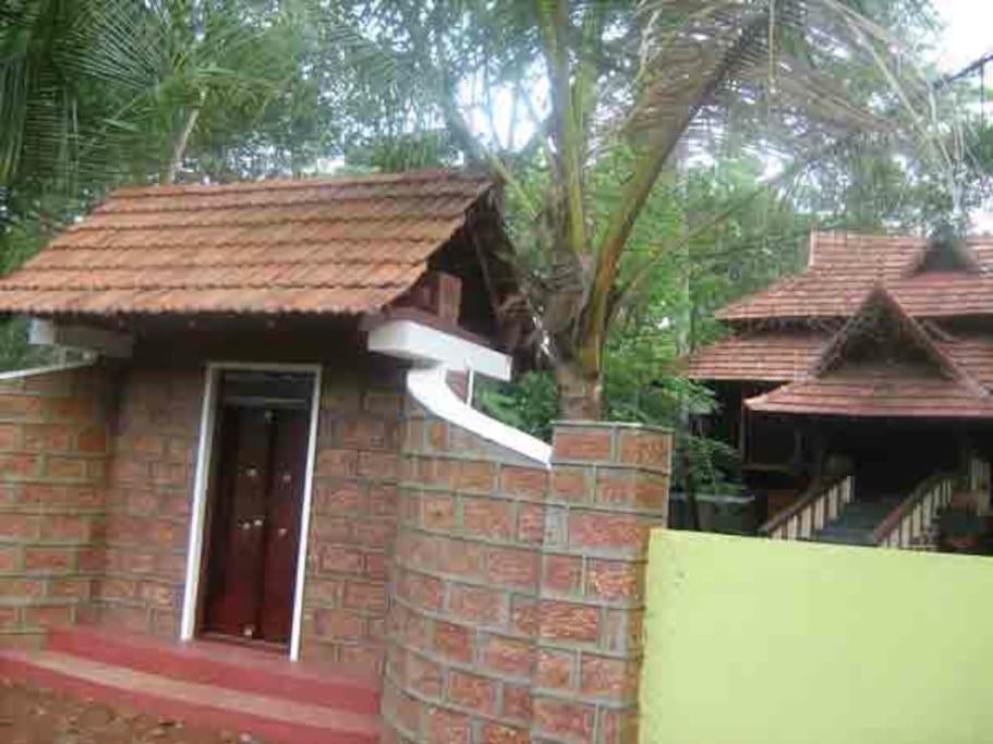 heritage cottage in Kerala