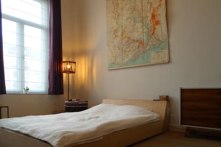 Vintage room in renovated duplex - Koekelberg - Apartment