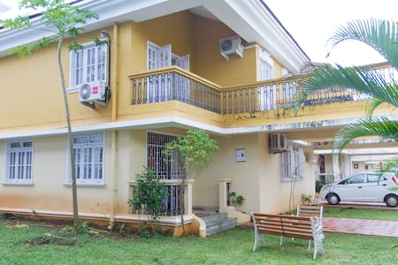 About the property The full service holiday home have a large living room with an attached dining and three spacious bedrooms with balconies. The master bedroom has an attach bathroom. And the one other room also has bathrooms .The living room