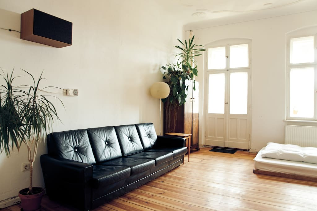 your room: the sofa