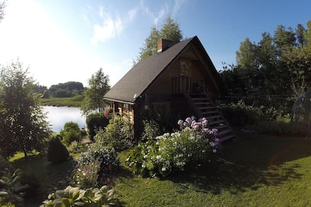 Beautiful wooden sauna house - Maaritsa - House
