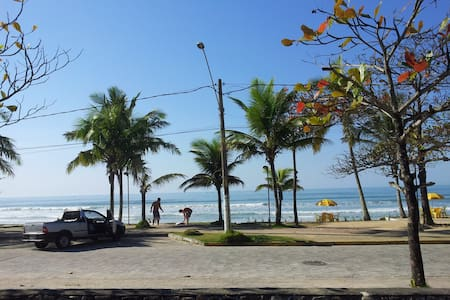Apto 2 quartos a 150m do mar -Praia Grande/Ubatuba - Apartemen