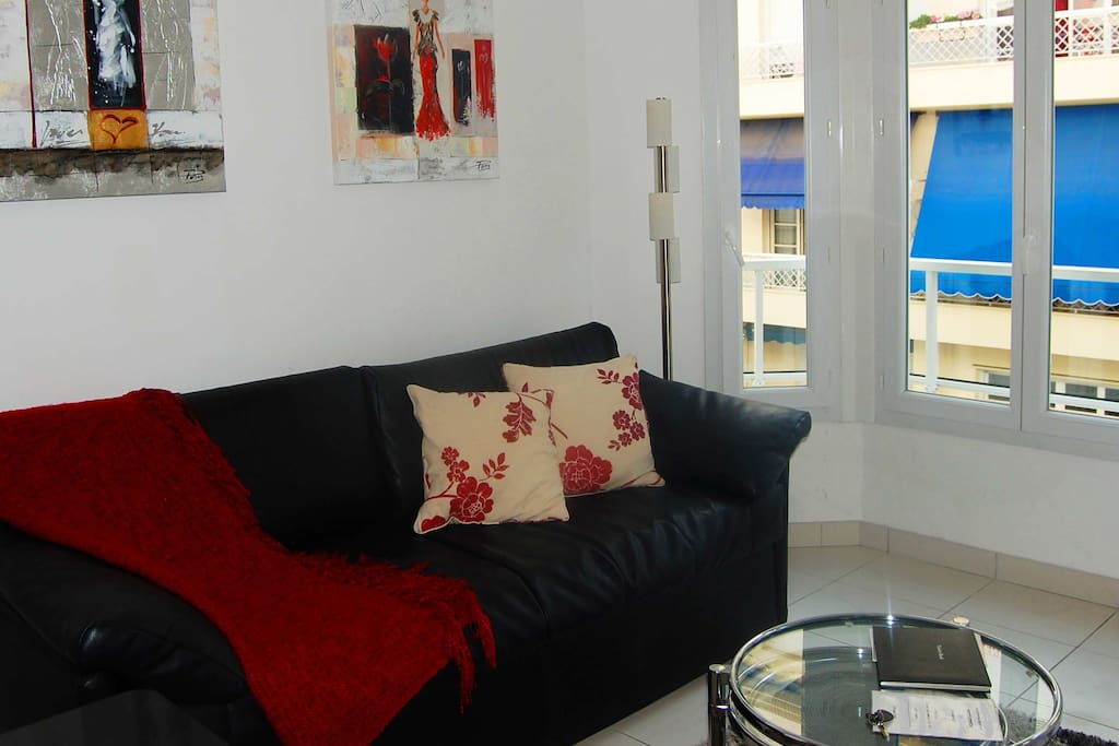 2 Living Area - France Nice Studio Apartment Harmonie-6