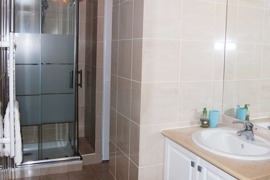 4 Bathroom - France Nice Studio Apartment Harmonie-14