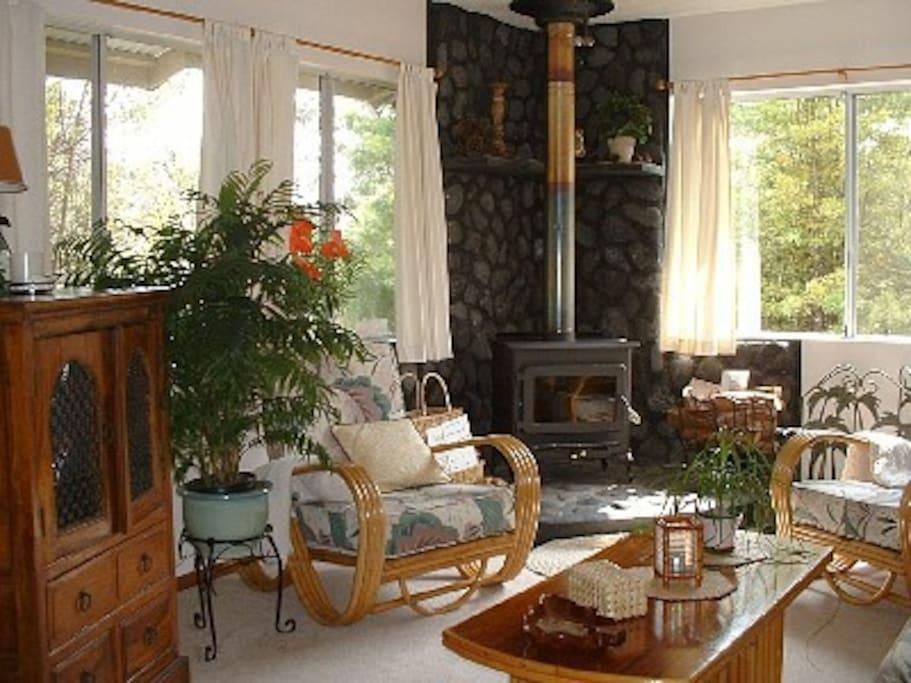 Hapu'u Fern Cottage w/ Hot Tub!