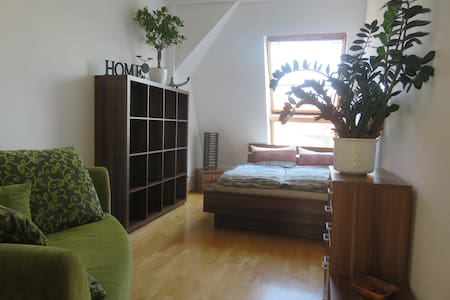 Cozy room in comfortable 180qm flat w. big terrace - Apartment