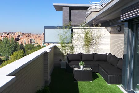 LUXURY PENTHOUSE +TERRACE+ POOL - Madrid - Wohnung