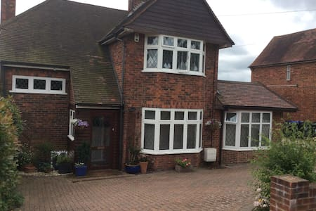 Large family home in quiet residential village - House
