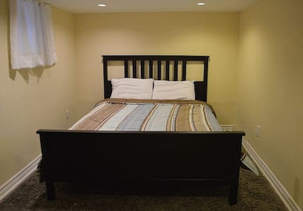 I have a fully furnished 1BR for rent available during the PanAm Games, 10 min. walk to subway and 20 min. to downtown.