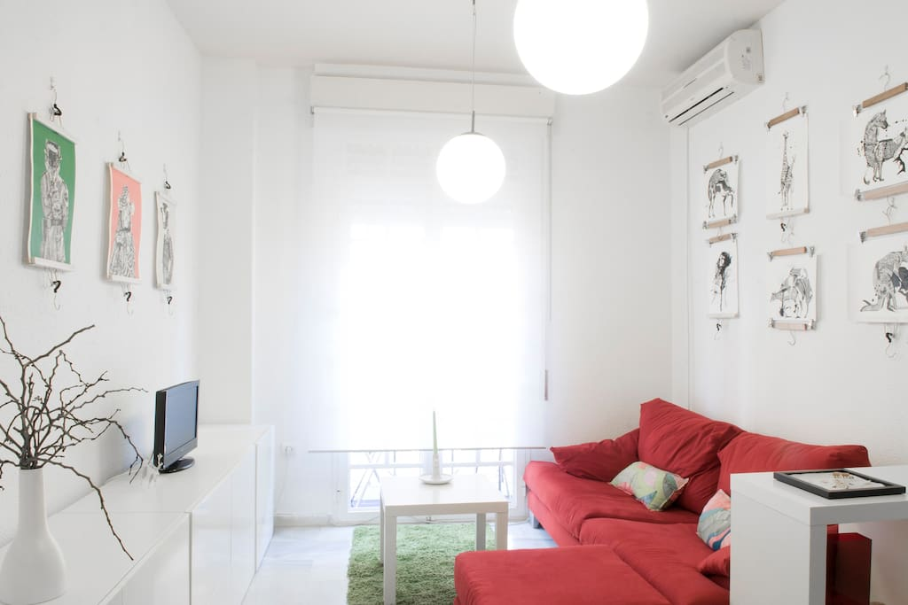 Cool apartment for happy people!