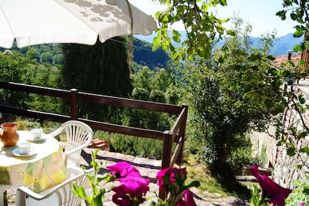 In the ancient mountain village... - Villa Collemandina