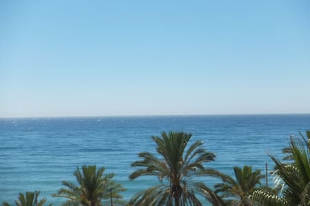Central Marbella, sea view!!!