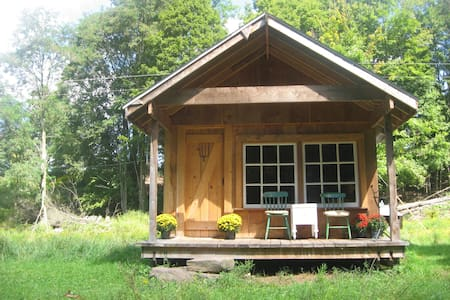 Room type: Entire home/apt Property type: Cabin Accommodates: 2 Bedrooms: 1 Bathrooms: 0.5