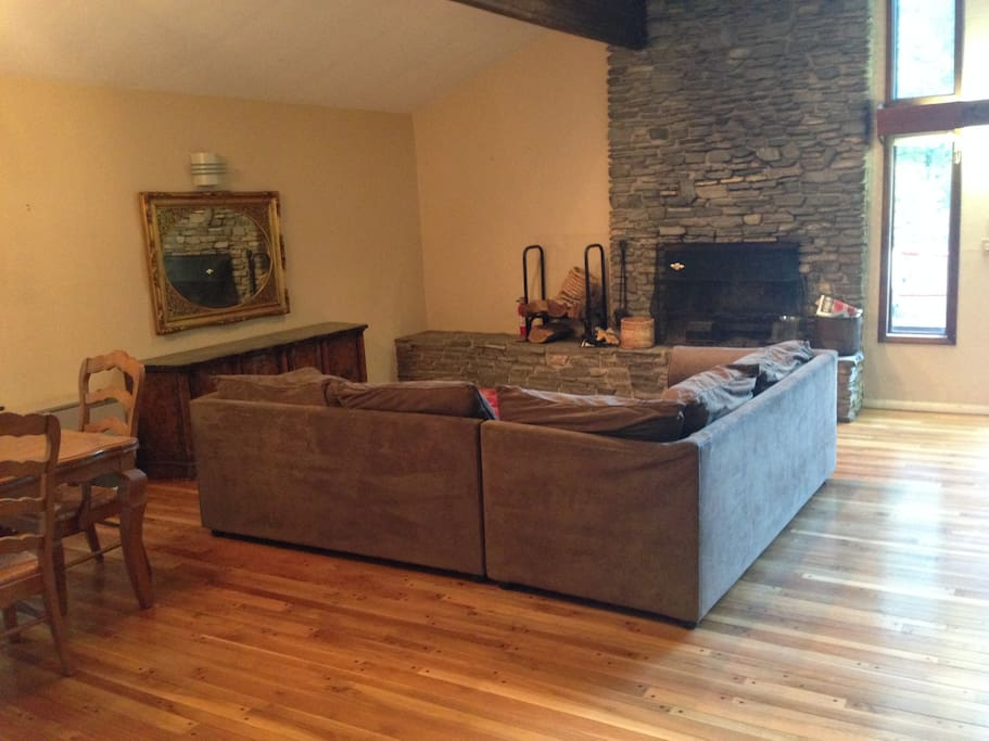 Large L-Shaped Couch for Cozy Nights