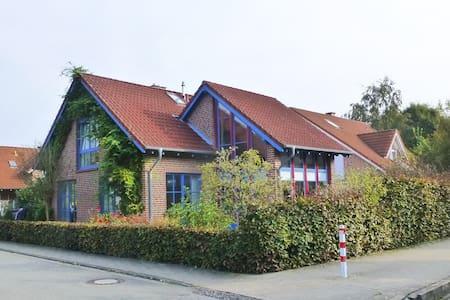 helles Studio im Grünen, citynah, Sauna - Münster - Lyxvåning