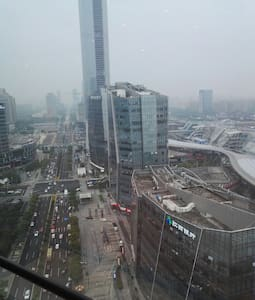 天堂蘇州的文化公寓,位於金雞湖旁,緊臨月光碼頭,洲際酒店,江南水秀 - Huoneisto