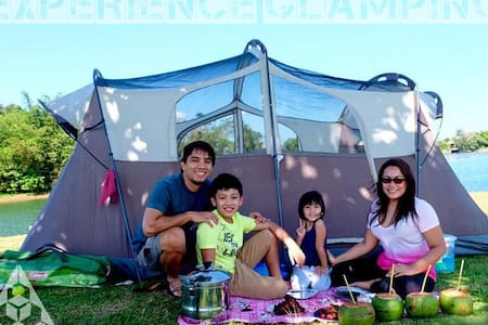 GLAMPING: Experience & Enjoy at the Mountain Lake! - Tent