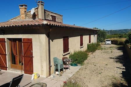 Haut de mas provençal - Mirabel-aux-Baronnies - Villa