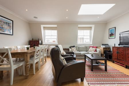 Two Bed Penthouse Flat in Pimlico - Apartamento