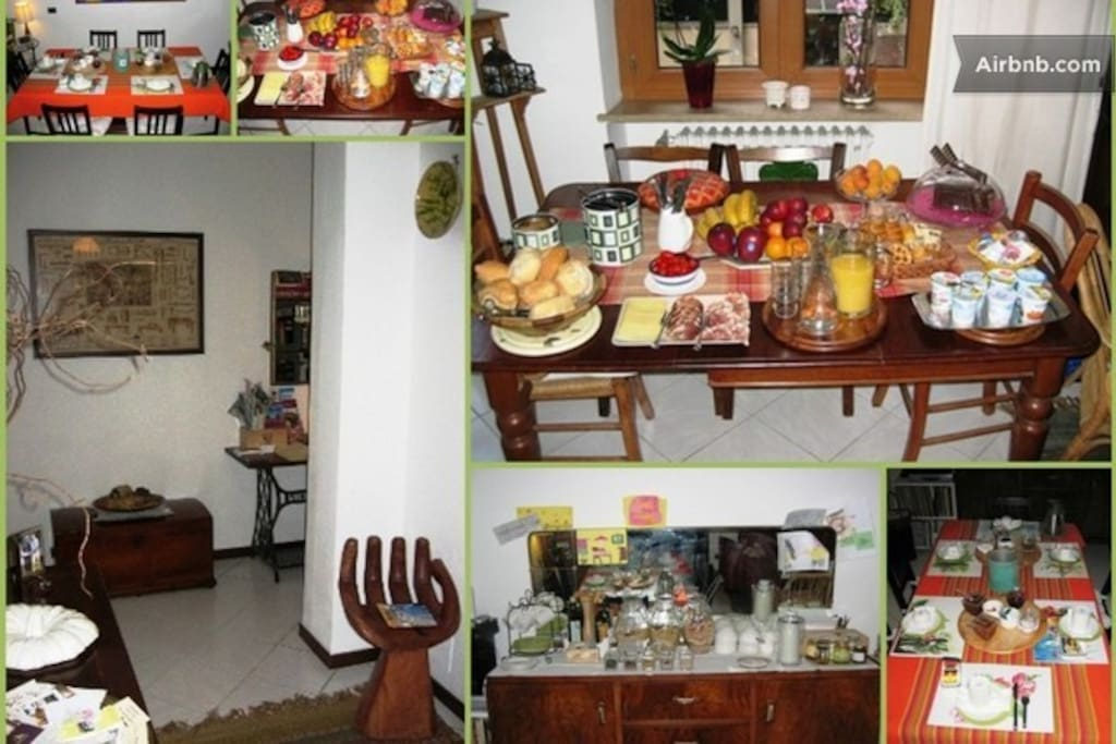 A mix of pics of our house and service