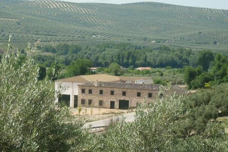 Stay in a traditional Andalusian Cortijo in Jaen - Huis