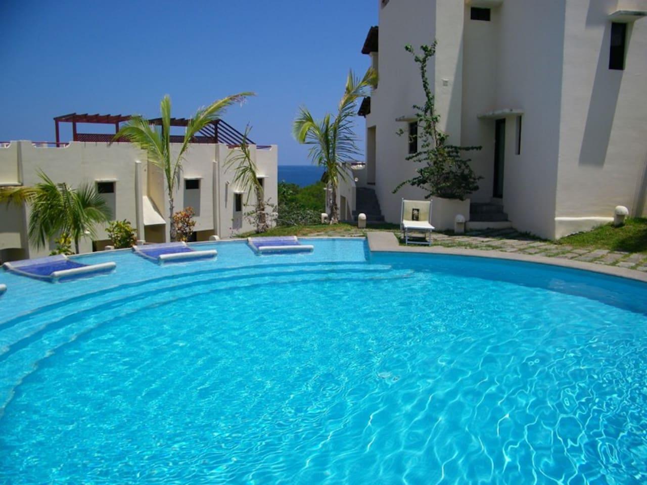 Pool overlooking Coco Beach