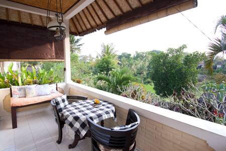 Upstairs Garden House Terrace View