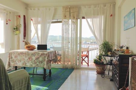 Habitación con cama doble y vistas - St Antoni de Portmany