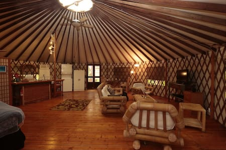 Private Yurt In The Jungle - Khemah Yurt