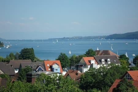 Whg-Blick auf Bodensee-Ludwigshafen - Appartement