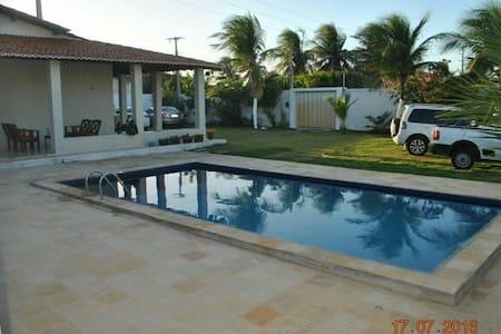 Wonderfull and clean beach house in Morro Branco. - Casa