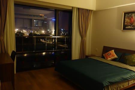 金鸡湖摩天轮五星酒店公寓 - Huoneisto