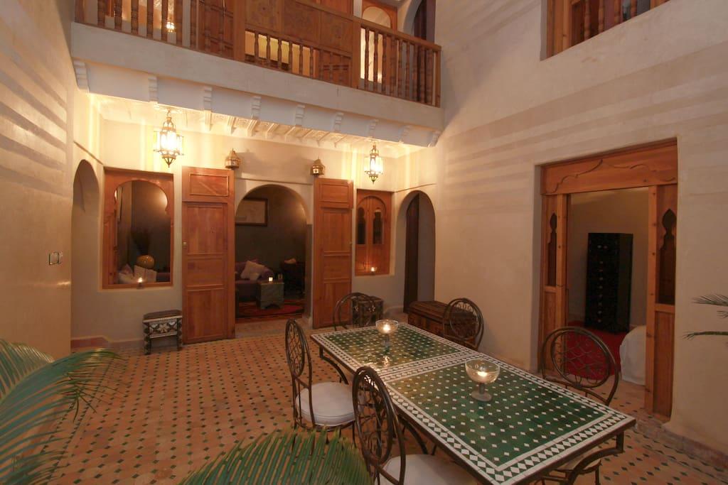Riad khalid zrika marrakech houses for rent in marrakech for Airbnb marrakech