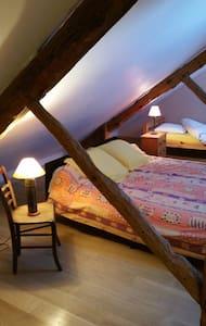 Suite Galouboï dans Domaine du Hardrais - Saint-Gildas-des-Bois - Bed & Breakfast