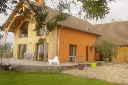 Maison des grandes terres - La Motte-Saint-Jean - Hus