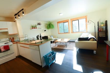 Bright One Bedroom suite - House