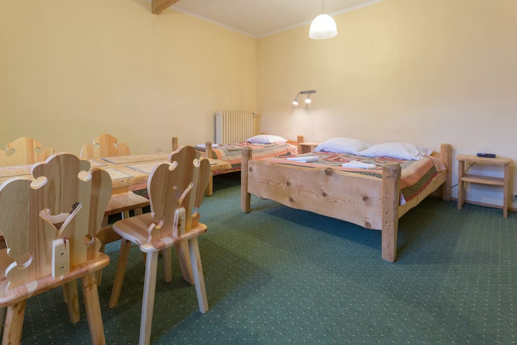 Family room accommodation for 3-4