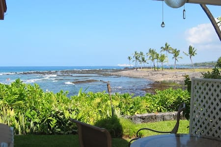 Amazing Oceanfront - Kona, Hawaii!  - Flat