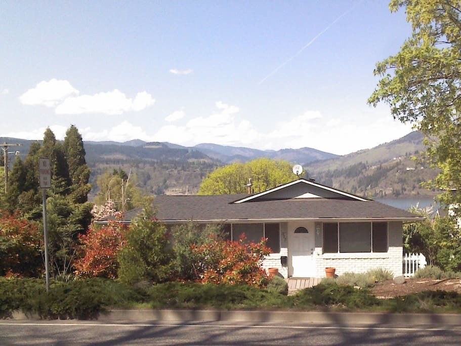 Front of Home-River and Mtn Views