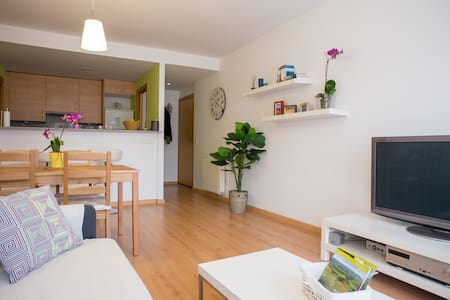 Apartament modern al centre històric de Manresa - Manresa - Apartemen