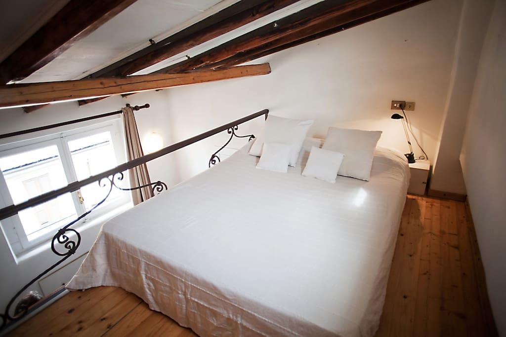 camera 2 letto matrimoniale su soppalco