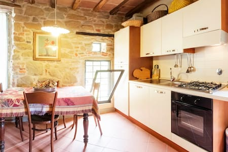 "Podere Staelli: ""La Loggia"". Romantic private and peaceful apartment."