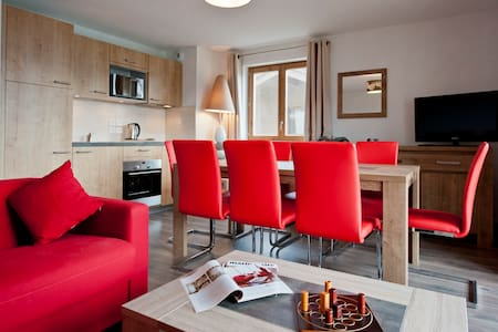 Appartement cosy, en bord de pistes - Apartmen
