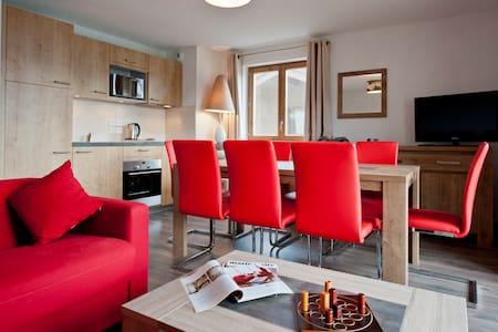 Appartement cosy, en bord de pistes - Appartement