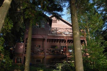 The Mark Twain Camp/L. Saranac Lake - House