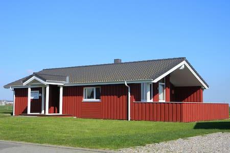 Holzhaus direkt am Nordseedeich - Wesselburenerkoog - Rumah