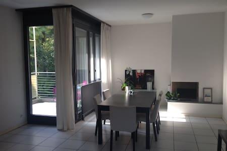 Quiet sunny room - Lugano Paradiso - Lugano - Wohnung