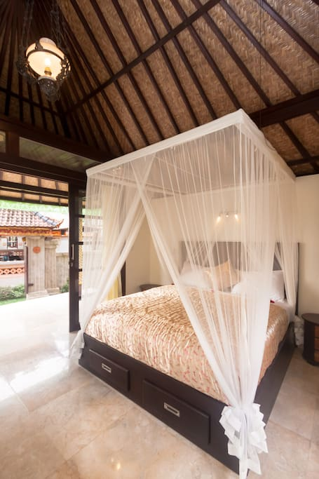 Large spacious air conditioned rooms